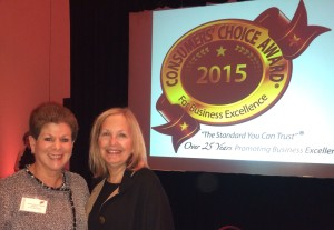 2015 Consumer Choice Award
